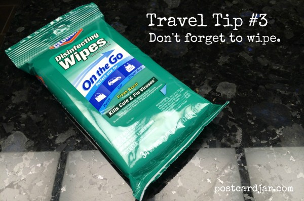 Travel Tip – Don't forget to wipe.