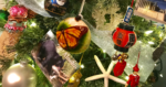 How to decorate your Christmas tree with travel souvenirs.