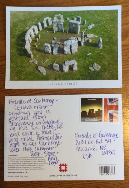 Stonehenge to Carhenge