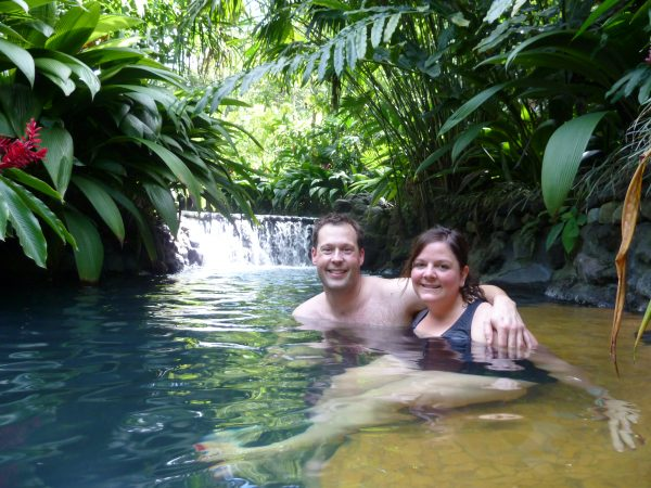 Tabacon Hot Springs Resort and Spa is, by far, one of the most romantic, relaxing places on earth.