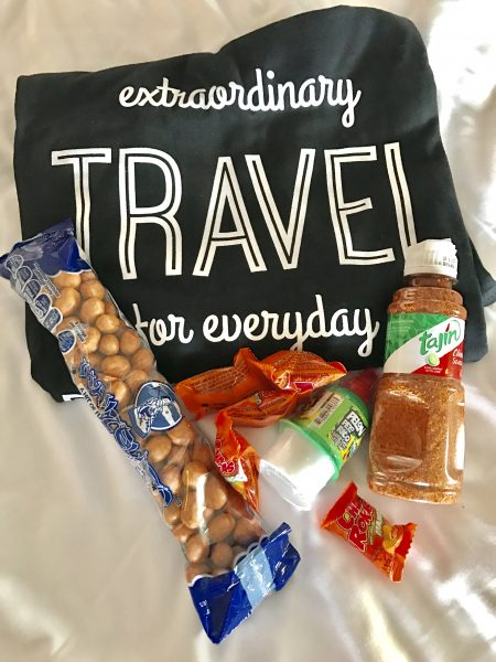 We packed a Postcard Jar t-shirt as well as some snacks from Mexico for one of our favorite crew members for Christmas.