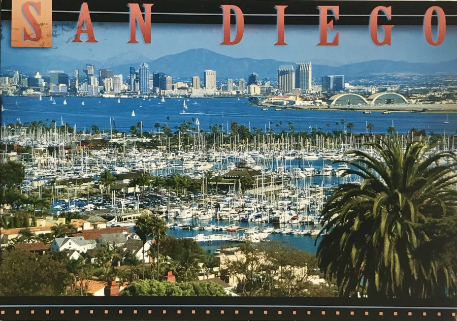 A postcard from San Diego