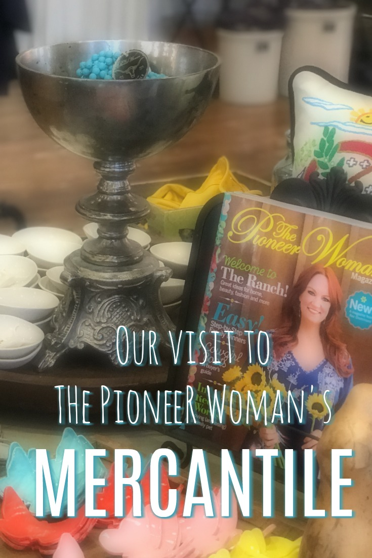 Our visit to the Pioneer Woman's Mercantile in Pawhuska, Oklahoma.