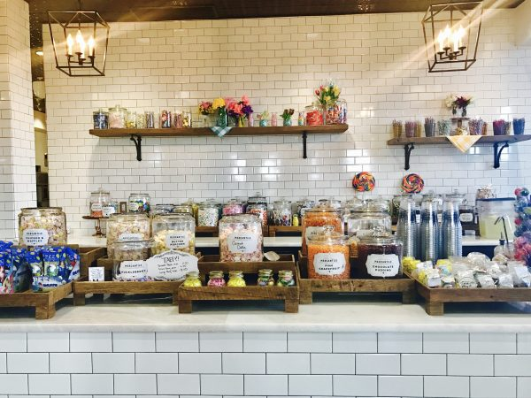 The Pioneer Woman Mercantile candy selection