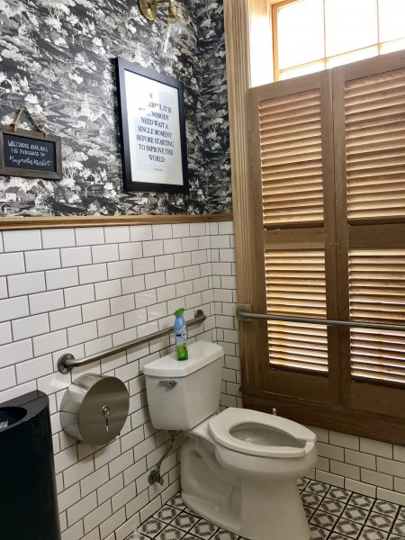 Magnolia Market Silos Baking bathroom