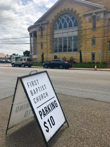 Magnolia Market Baptist Church parking
