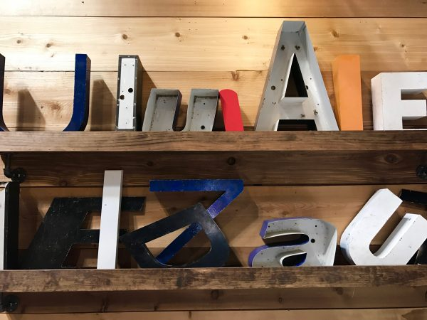 Magnolia Market decorative letters