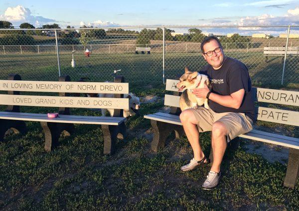 Waggin' Tail dog park, Crete, Nebraska