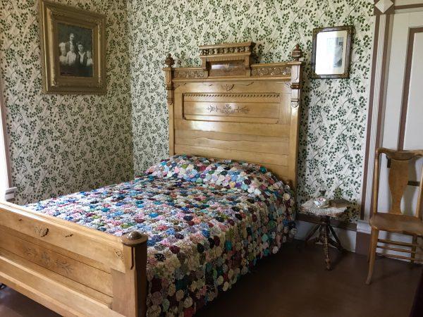 Scout's Rest Ranch bedroom, North Platte, Nebraska
