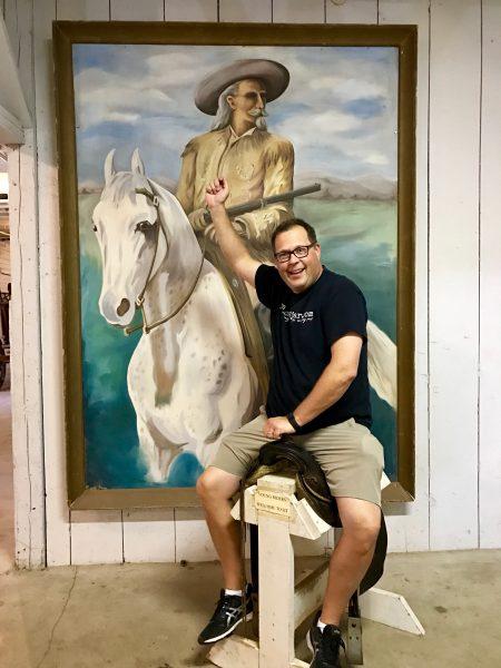 Scout's Rest Ranch saddle, North Platte, Nebraska