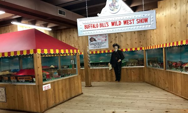 Buffalo Bill's Wild West Show in miniature, Fort Cody Trading Post, North Platte, Nebraska