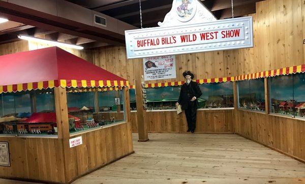 Buffalo Bill's Wild West Show in miniature, Fort Cody Trading Post, North Platte, Nebraska