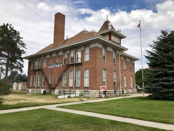 Centennial Hall exterior, Valentine, Nebraska