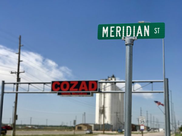 The 100th Meridian in Cozad, Nebraska.