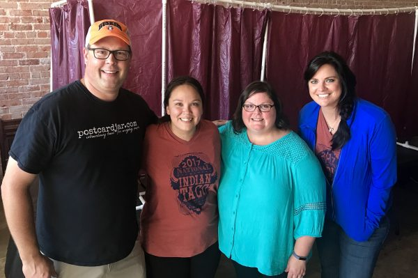 We had a great week in Pawhuska, thanks in large part to Pawhuska Chamber staff Reba Bueno and Joni Nash.