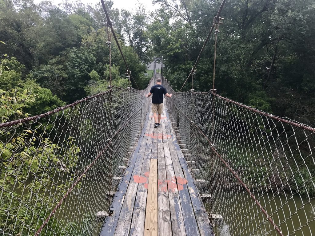 Swinging Bridge, Pawhuska, Oklahoma