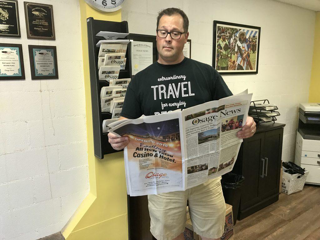 Osage News, Pawhuska, Oklahoma