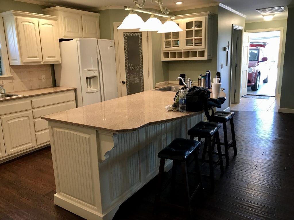 Redbud Cottage kitchen, Pawhuska, Oklahoma