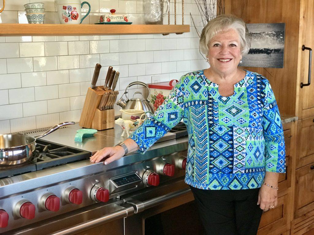 Pioneer Woman Lodge kitchen, Pawhuska, Oklahoma