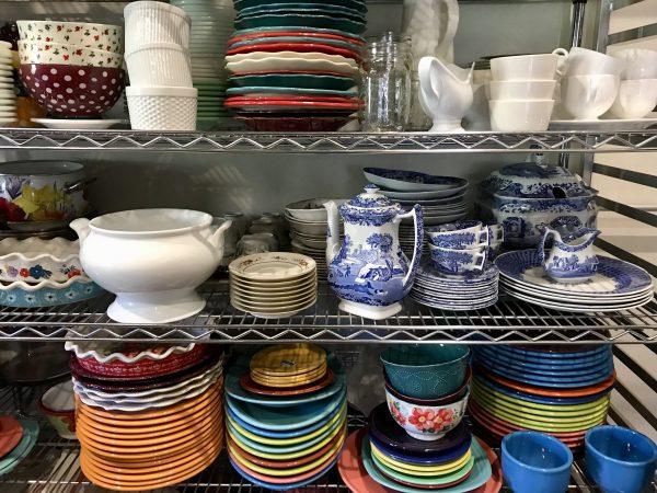 Pioneer Woman Lodge dishes, Pawhuska Oklahoma