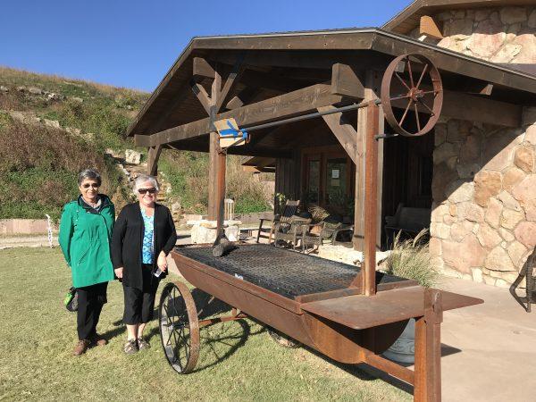 Pioneer Woman Lodge grill, Pawhuska, Oklahoma