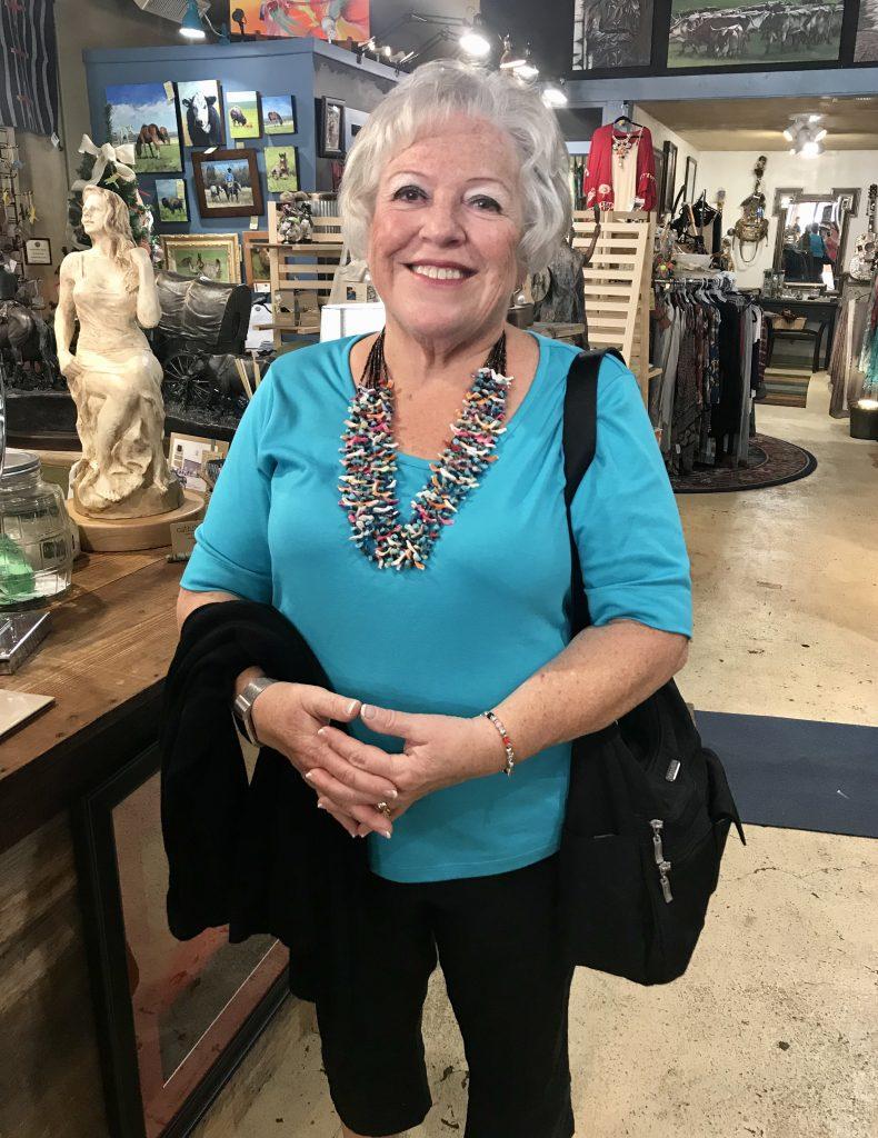 Tallgrass Art Gallery, fetish necklace, Pawhuska, Oklahoma