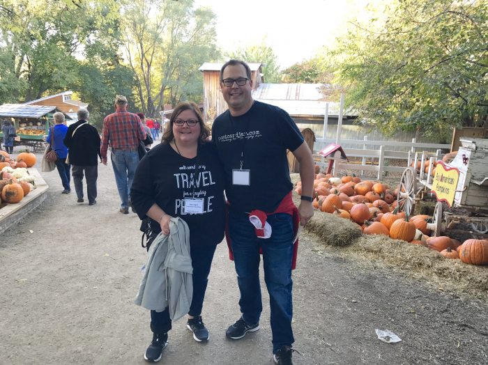 This was the first year we'd gone to Vala's Pumpkin Patch just of Interstate 80 near Gretna, Nebraska. If we'd only known what we'd been missing! This place was amazing and we can't wait to go back next fall.