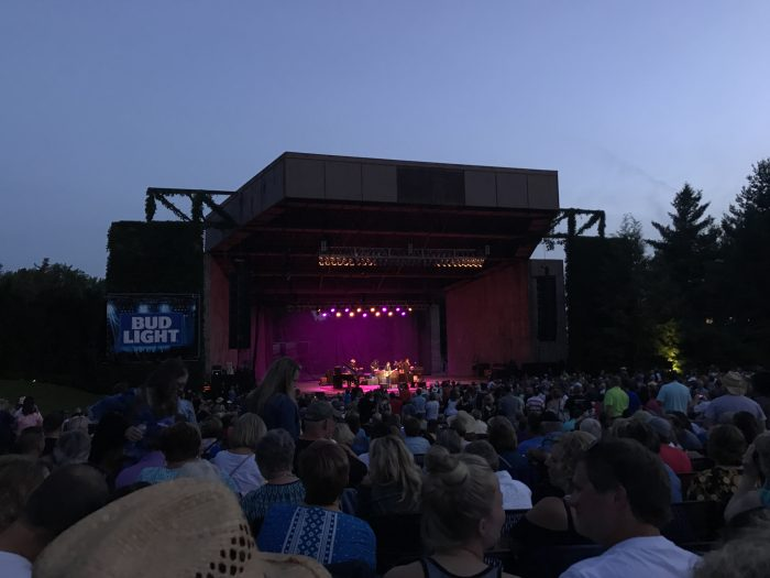 This outdoor amphitheater called the Pinewood Bowl is a Lincoln, Nebraska, treasure. We saw Willie Nelson perform there this summer and were amazed by his guitar playing.