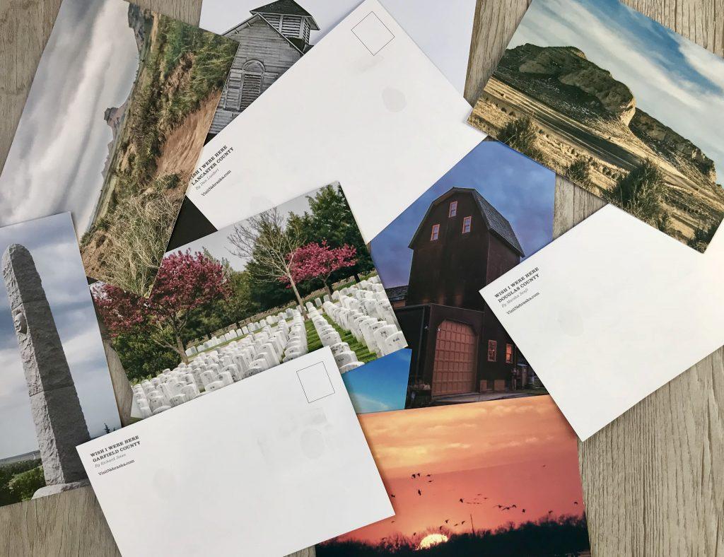 Nebraska Tourism postcards
