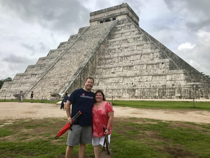 Neither one of us had ever seen one of the Seven Wonders of the World until we visited the pyramid at Chichen Itza in 2017.