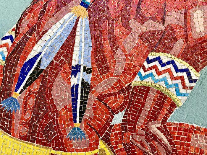 Woolaroc Museum mosaic, Woolaroc, Oklahoma