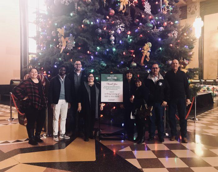 Durham Museum Christmas Tree, Graeve Family, Omaha, Nebraska