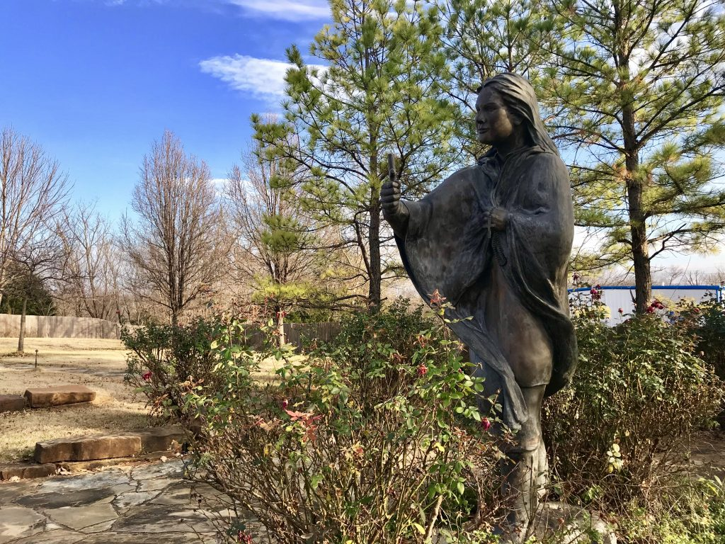 St. Kateri shrine, Pawhuska, Oklahoma