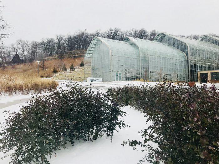 Lauritzen Gardens conservatory, Omaha, Nebraska