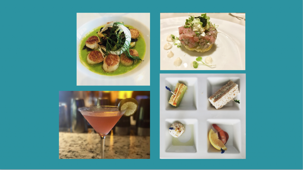Cruise cuisine slide