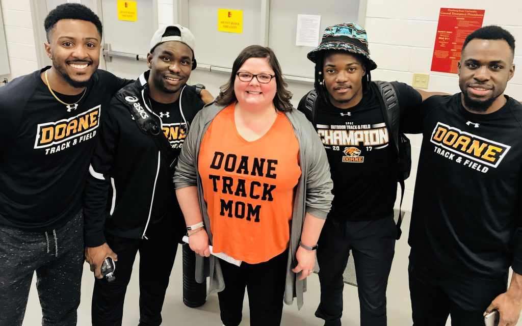 """Honored to be """"like a mom"""" to these incredible young men."""