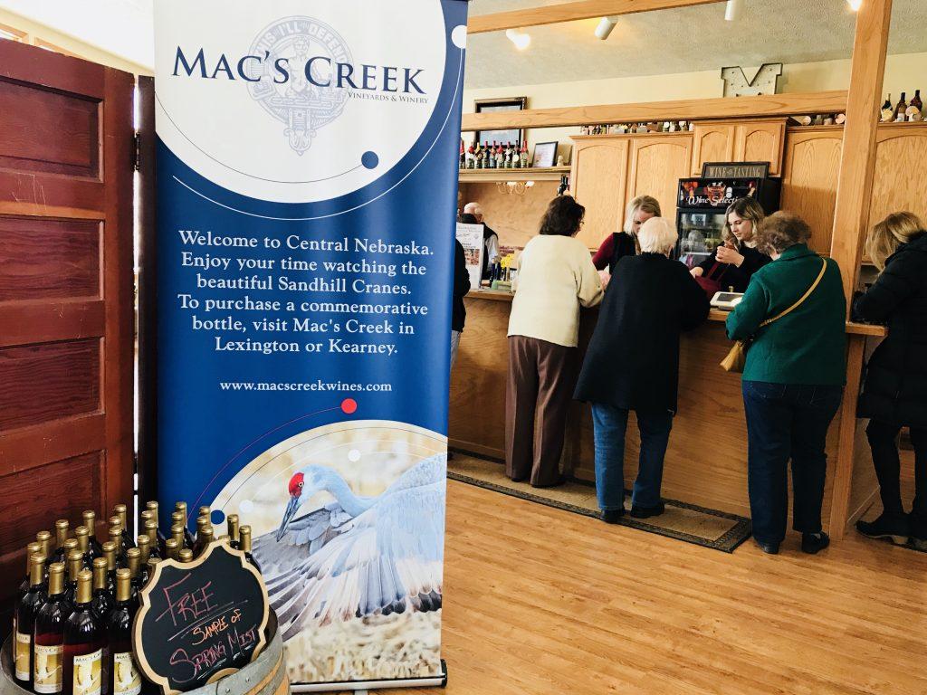 Mac's Creek Winery in Lexington, Nebraska.