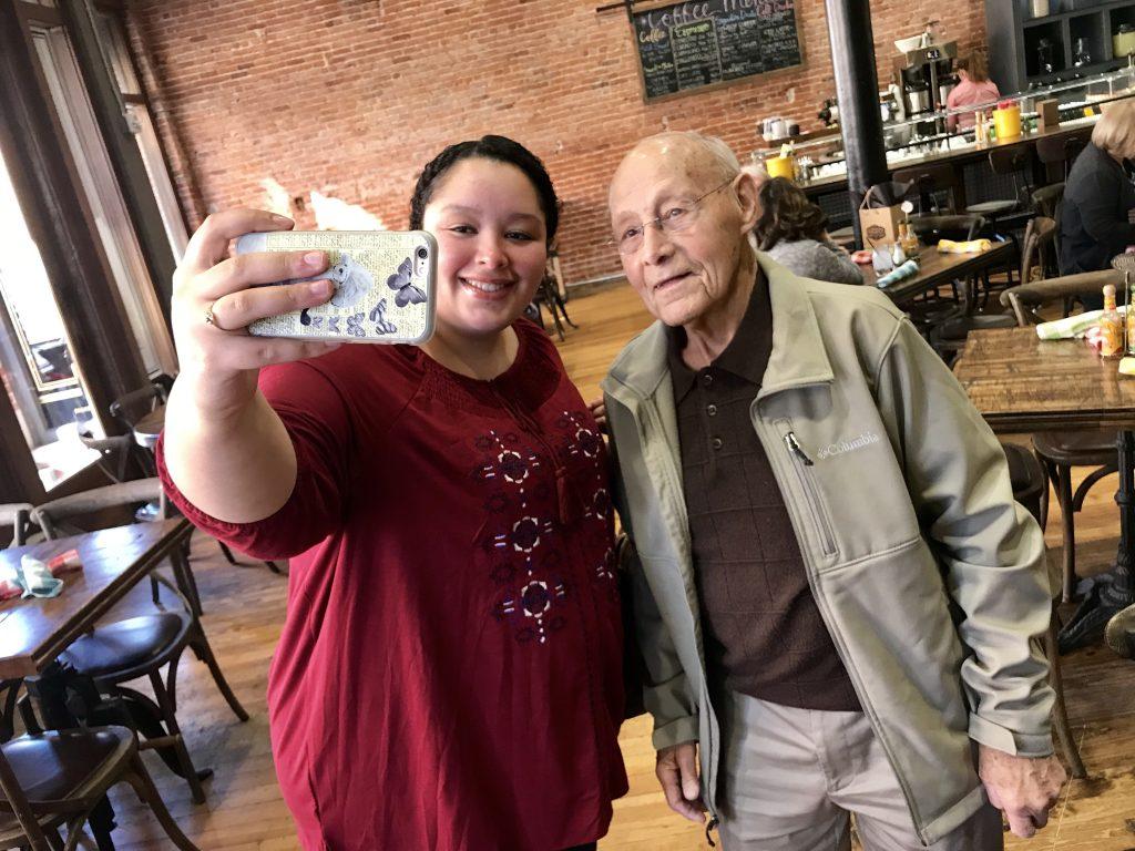 Mr. Reber Selfie, Pawhuska, Oklahoma