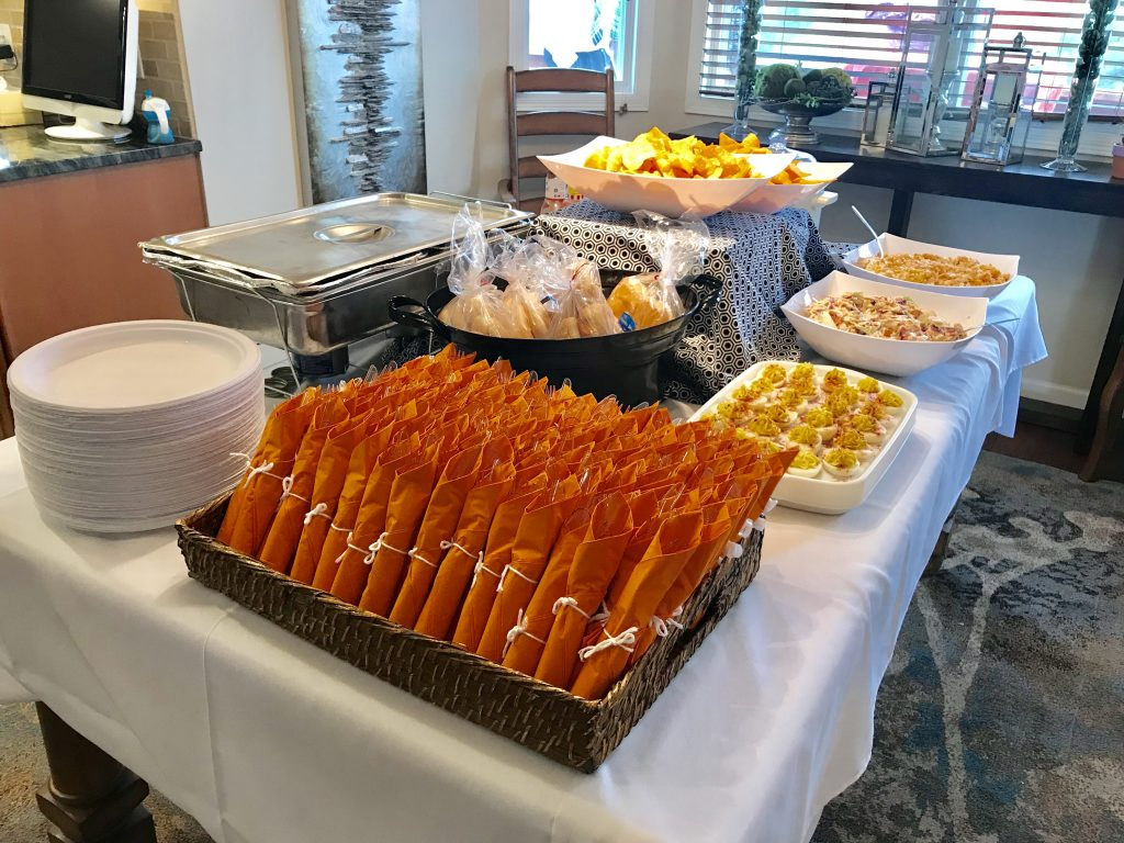 Graduation buffet