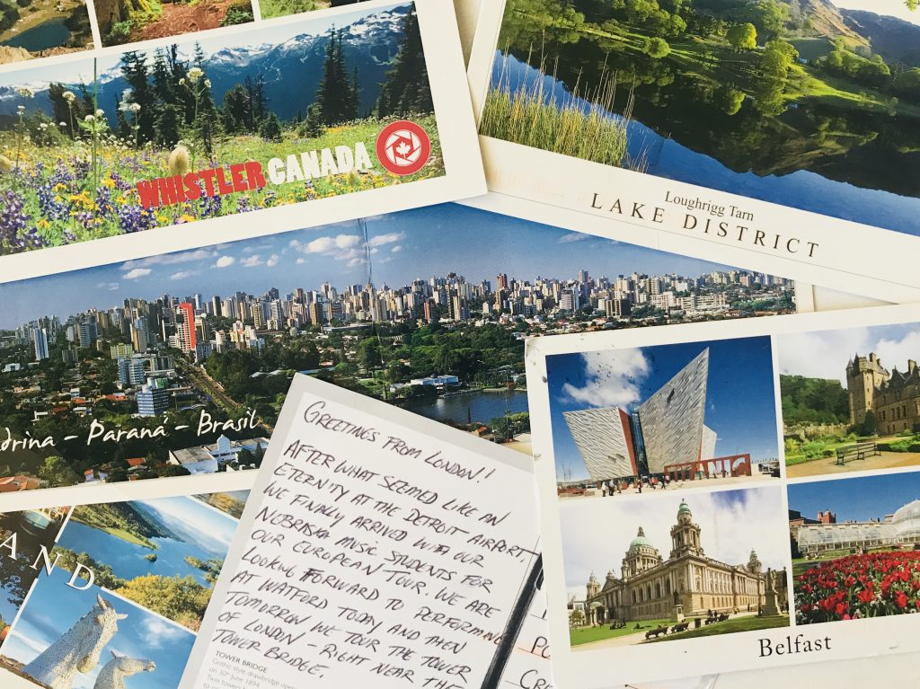Our readers have sent us postcards from all over the world.