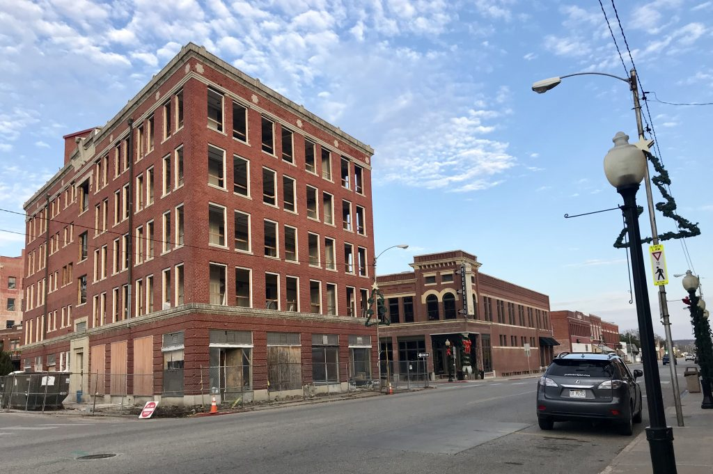 The Triangle Building in downtown Pawhuska will soon be the Frontier Hotel.