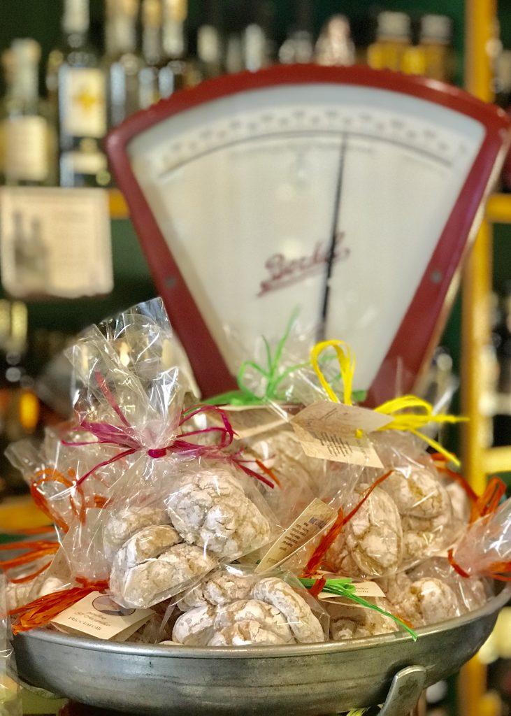 Biscotti at il Magnifico, Siena, Italy