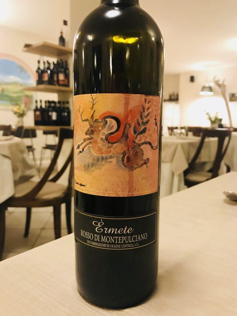 Podere Della Bruciata wine, Montepulciano