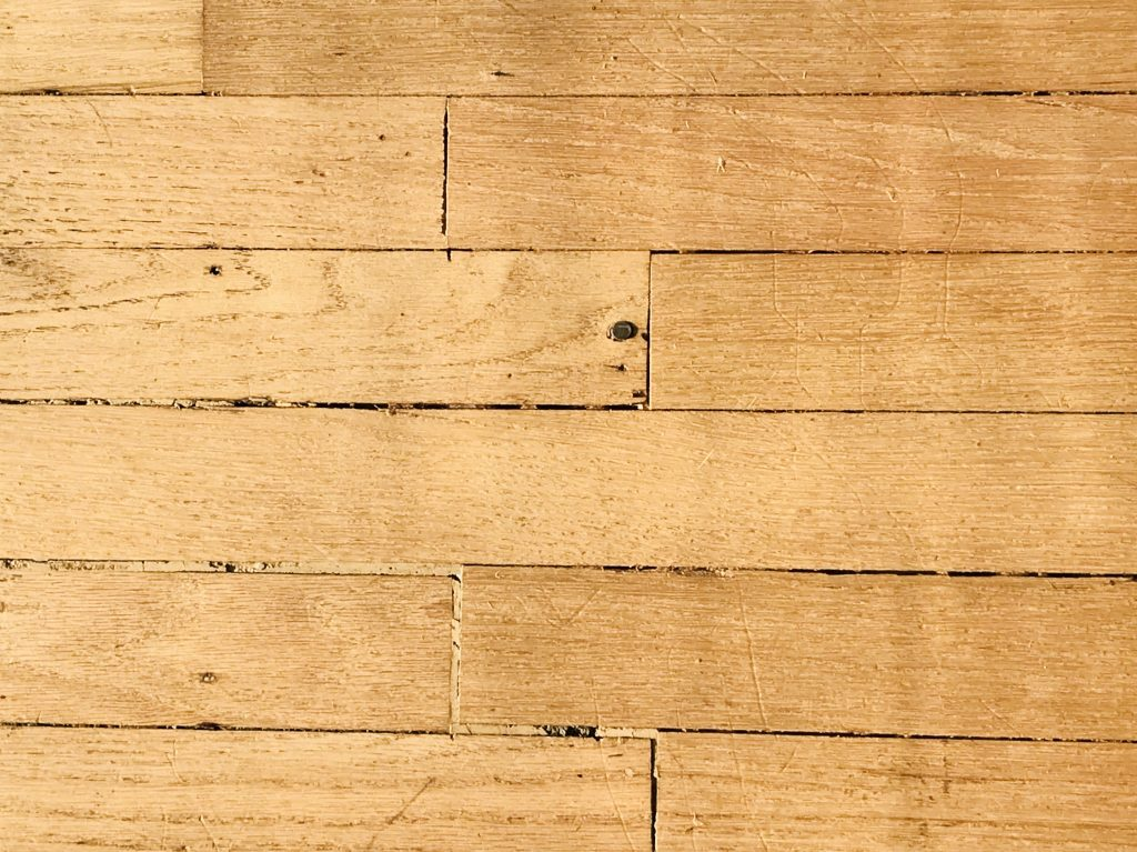 Pawhuska house hardwood floors
