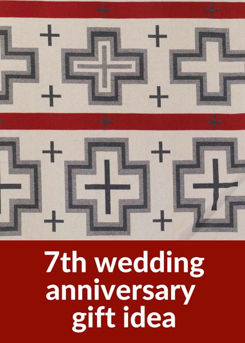 Traditional 7th anniversary gift idea.
