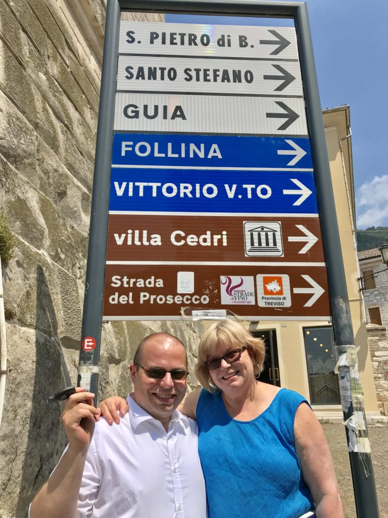 Massi the Driver and his wife, Deb, of Italy Unfiltered knew exactly where to go and what to see and do in the Prosecco region in Valdobbiadene, Italy.