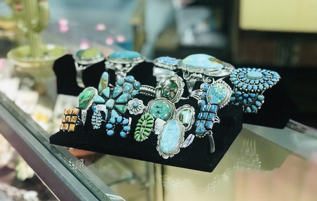Buckin' Flamingo Pawhuska Oklahoma tourquoise jewelry