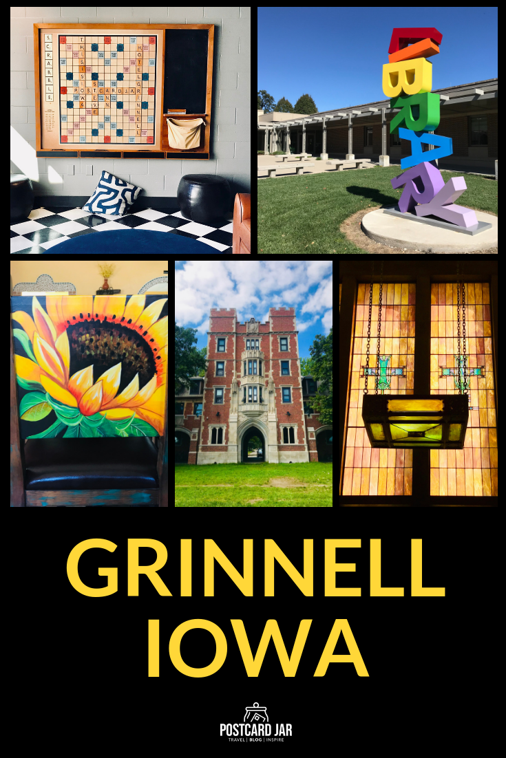 Here are 15 photo-worthy stops when you visit Grinnell, Iowa. #Grinnell #GetIntoGrinnell #GrinnellCollege #ThisIsIowa