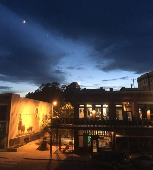 Pawhuska evening sky