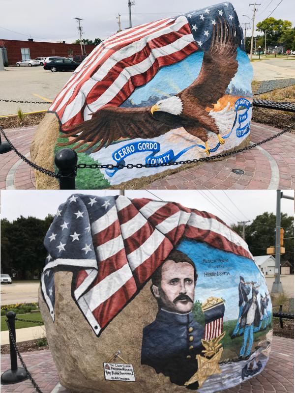 Freedom Rock Clear Lake, Iowa